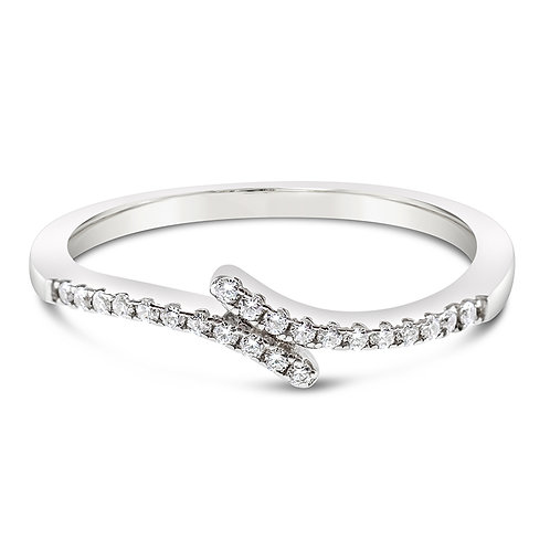 Bitter Sweet Sterling Silver Cubic Zirconia Ring 122855