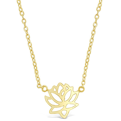 Bitter Sweet Gold Plated Sterling Silver Necklace 143363