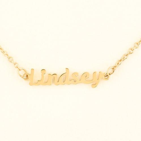 Marina De Buchi Personalized Necklace Lindsey 140352