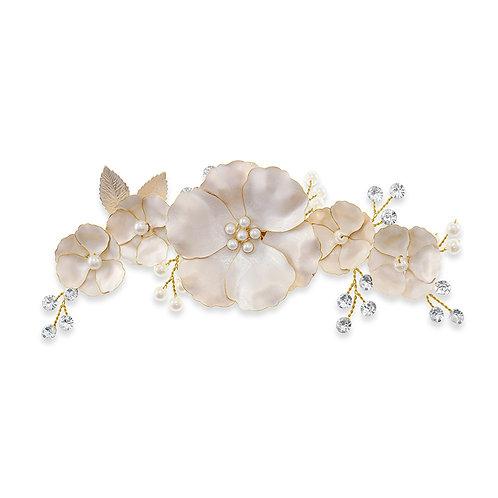 Bridal Gold Hair Clip 142039