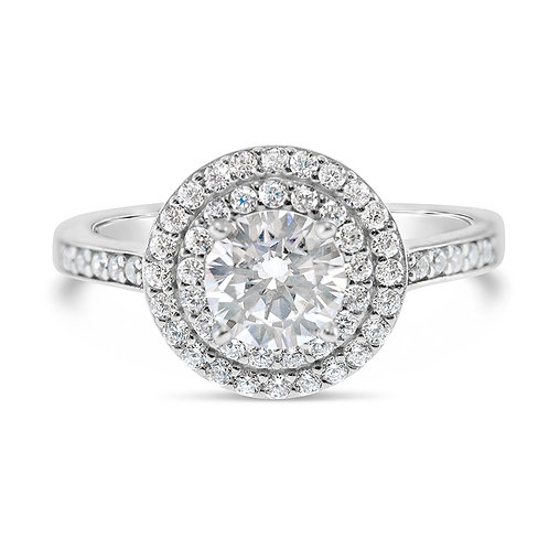 Bitter Sweet Sterling Silver Cubic Zirconia Ring 132902