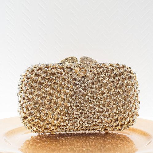 Gold Crystal Clutch 141036