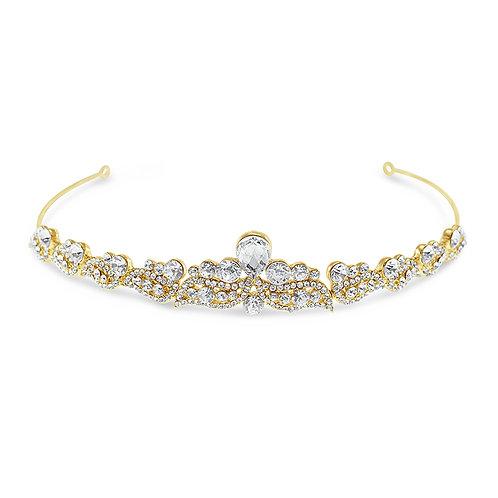Bridal Gold Vintage Tiara 142057