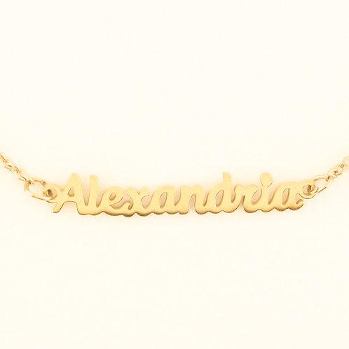 Marina De Buchi Personalized Necklace Alexandria  140251
