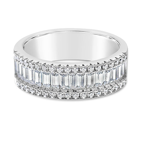 Bitter Sweet Sterling Silver Cubic Zirconia Ring 141343