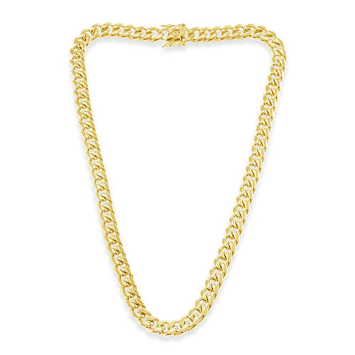 Bitter Sweet Jewellery Stainless Steel Curb Gold Necklace 141159