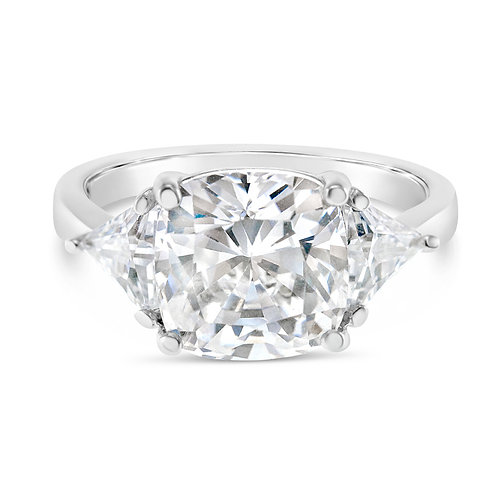 Bitter Sweet Sterling Silver Cubic Zirconia Ring 132904
