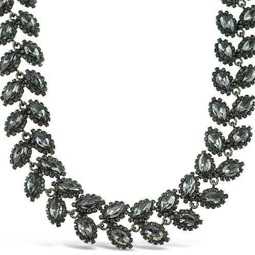 Costume Anita Crystal Leaf Necklace 140989