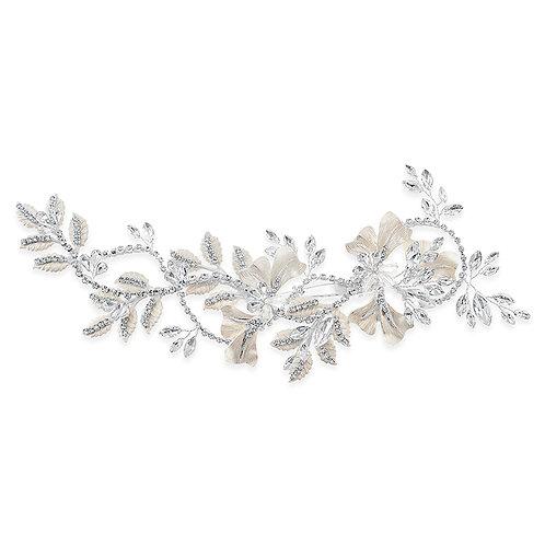 Bridal Silver Hair Clip 142070
