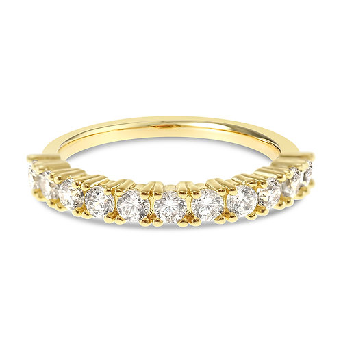Bitter Sweet Fashion Gold Cubic Zirconia Ring 141981
