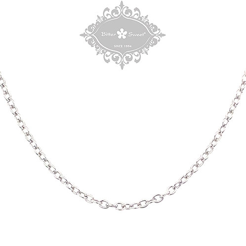 Sterling Silver Cable Chain 103740