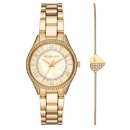 Michael Kors Lauryn Ladies Gift Set Watch 141659