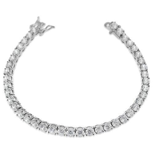 Bitter Sweet JewelleryCostume Cubic Zirconia Silver Bracelet142296
