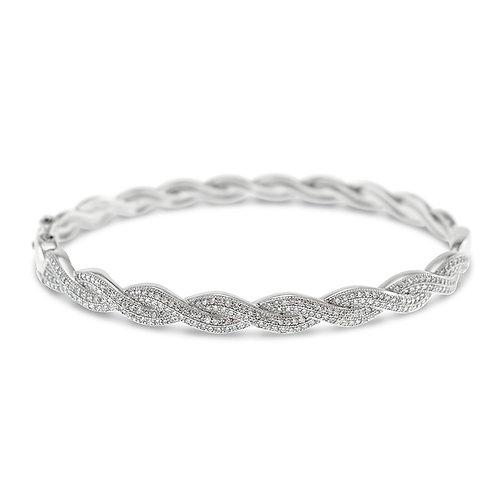 Bitter Sweet Sterling Silver Cubic Zirconia Bracelet 119868