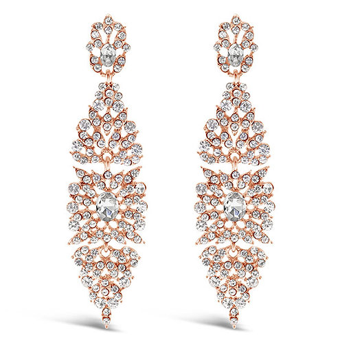 Fashion Crystal Drop Earrings 143583