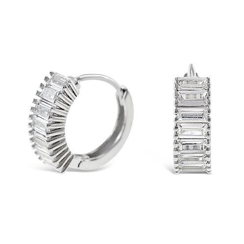 Sterling Silver Cubic Zirconia Earrings 141780