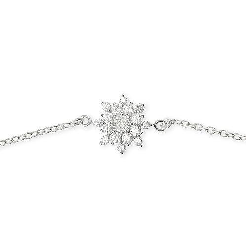 Bitter Sweet Sterling Silver Cubic Zirconia Bracelet 141616