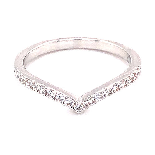 Bitter Sweet Sterling Silver Cubic Zirconia Ring 139392