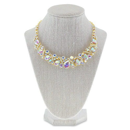 Fashion Crystal Necklace & Earrings Set