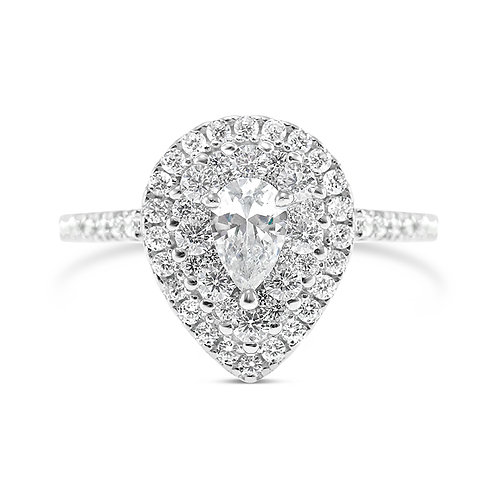 Bitter Sweet Sterling Silver Cubic Zirconia Ring 140122