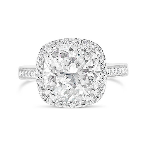Sterling Silver Cubic Zirconia Ring 132086