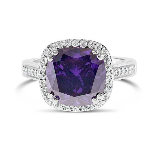 Sterling Silver Cubic Zirconia Ring 132086-10125185