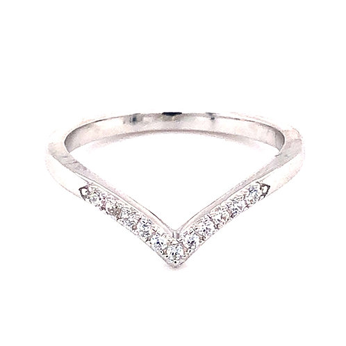 Bitter Sweet Sterling Silver Cubic Zirconia Ring 143520