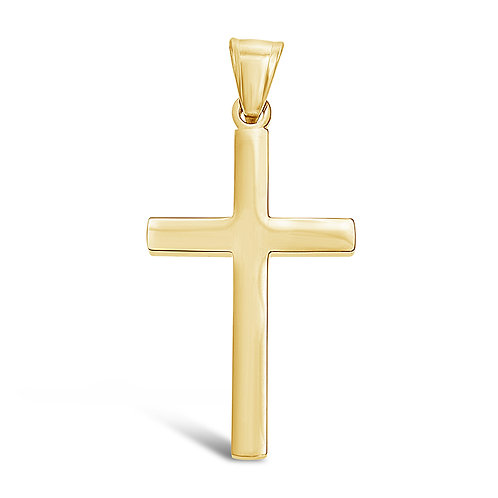 Bitter Sweet Jewellery Stainless Steel Gold Cross Pendant 142530