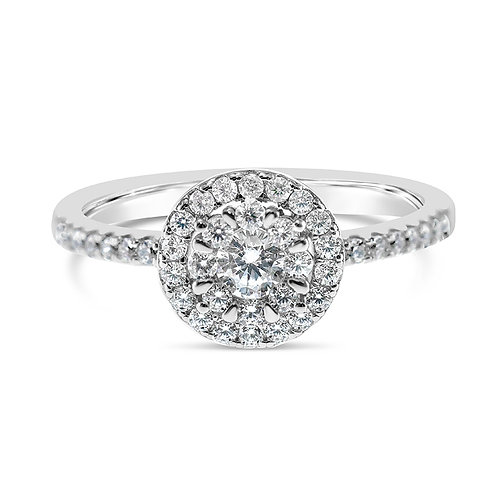 Bitter Sweet Sterling Silver Cubic Zirconia Ring 130249