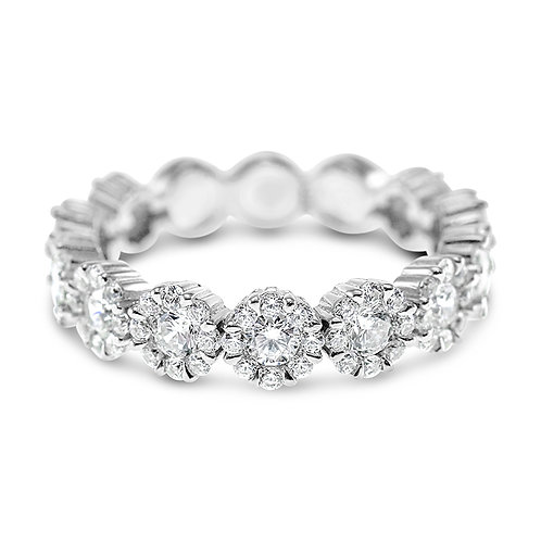 Bitter Sweet Sterling Silver Cubic Zirconia Ring 130250