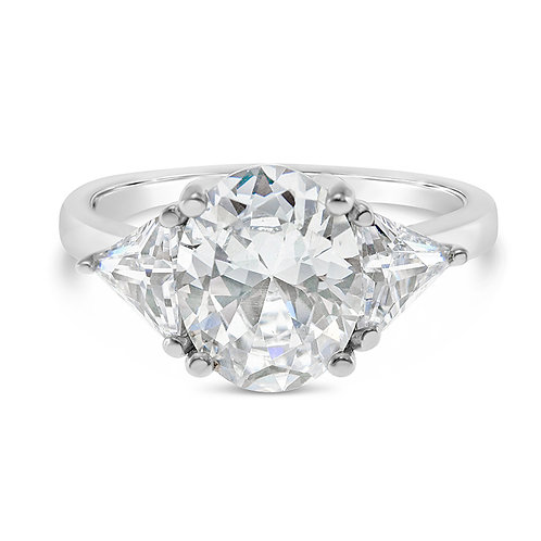 Bitter Sweet Sterling Silver Cubic Zirconia Ring 132905