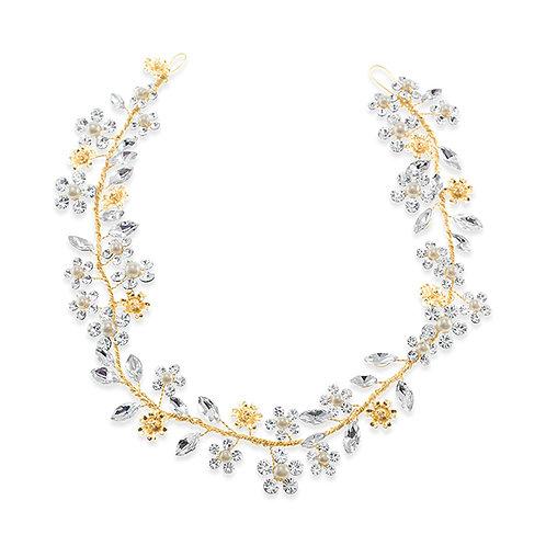 Bridal Gold Hair Vine 138092-10126811