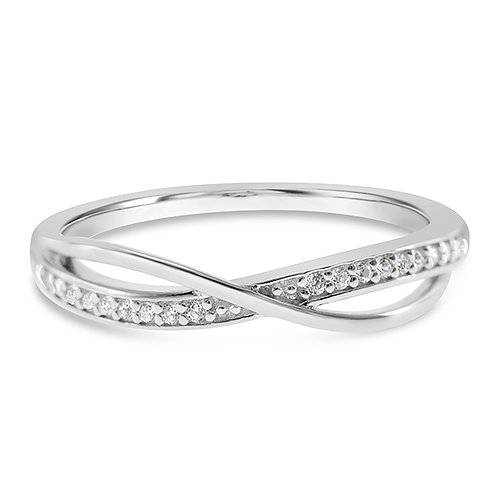 Sterling Silver Cubic Zirconia Ring 140135
