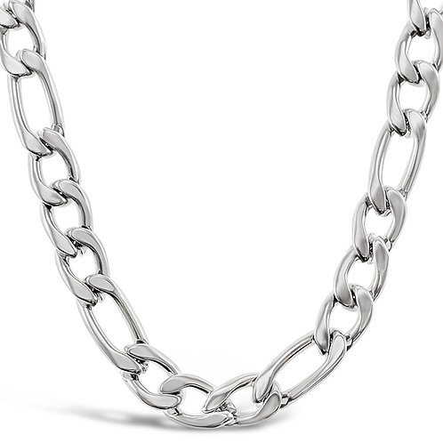 Bitter Sweet Stainless Steel Silver Figaro 5mm Chain 141480