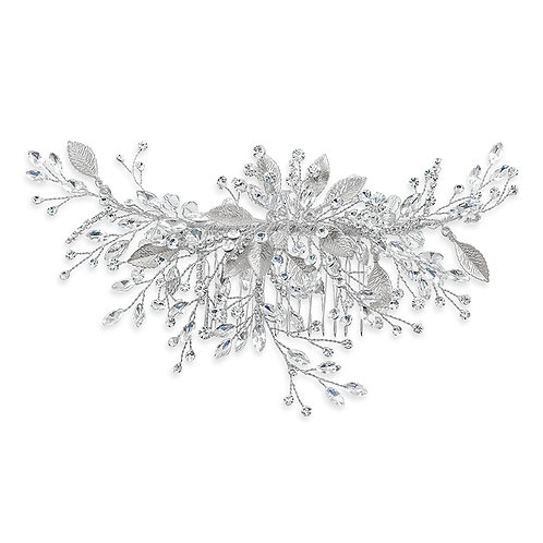 Bridal Silver Hair Comb 142072