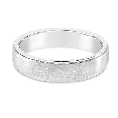 Bitter Sweet Jewelery Men's Stainless Steel Plain Ring 142437