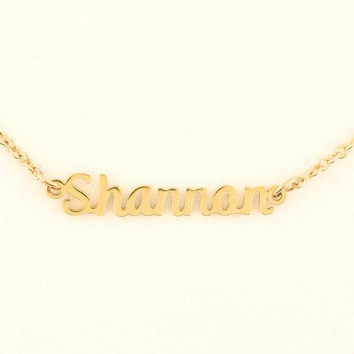 Marina De Buchi Personalized Necklace Shannon  140385