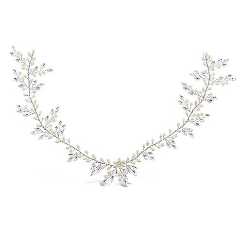 Bridal Silver  Hair Vine 137535