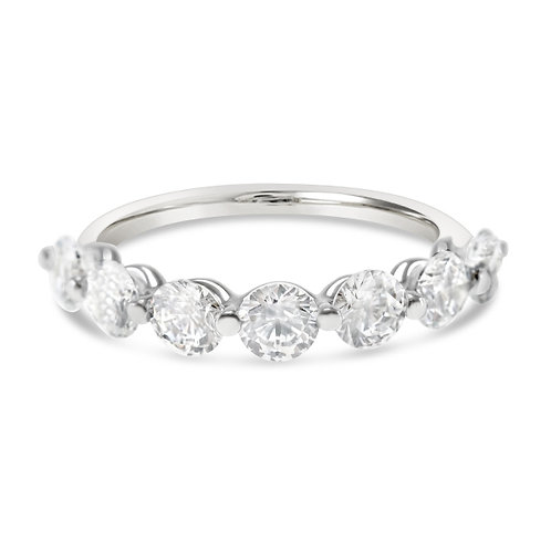 Bitter Sweet Sterling Silver Cubic Zirconia Ring 143184