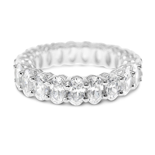 Bitter Sweet Sterling Silver Cubic Zirconia Ring 141134