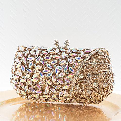 Gold Crystal Clutch 143563