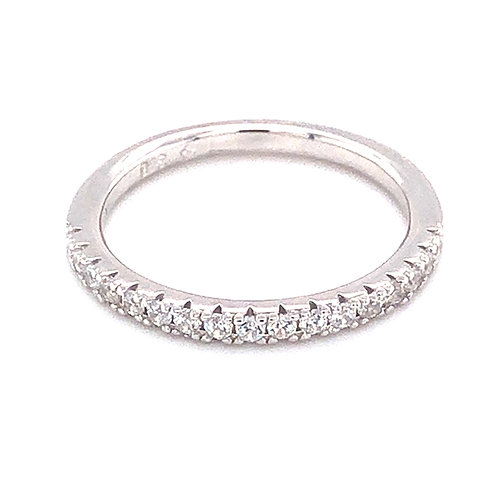 Bitter Sweet Sterling Silver Cubic Zirconia Ring 143526