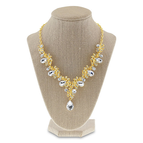 Fashion Crystal Necklace & Earrings Set 142371