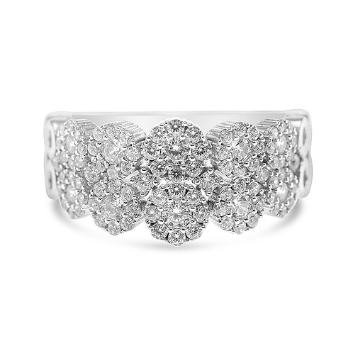Bitter Sweet Sterling Silver Cubic Zirconia Ring 131344