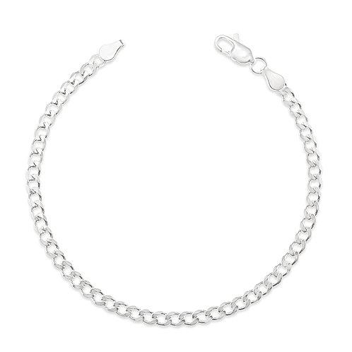 Bitter Sweet Sterling Silver Cuban Bracelet 142963