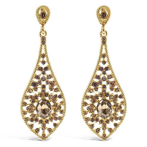 Fashion Crystal Drop Earrings 136911