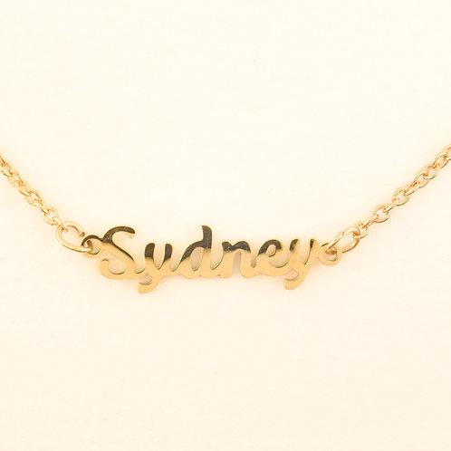 Marina De Buchi Personalized Necklace Sydney 140390