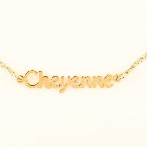 Marina De Buchi Personalized Necklace Cheyenne 140277