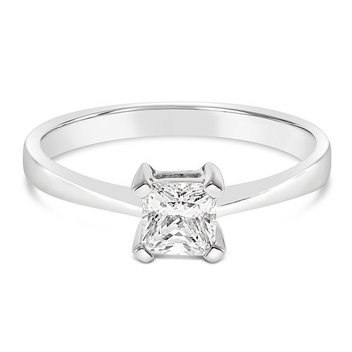 Bitter Sweet Sterling Silver Cubic Zirconia Ring 131352
