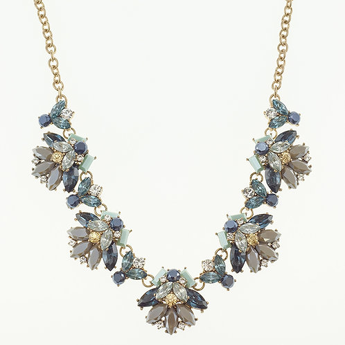 Fashion Blue Necklace 141112
